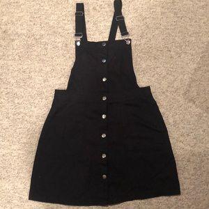 Black H&M Overall Dress